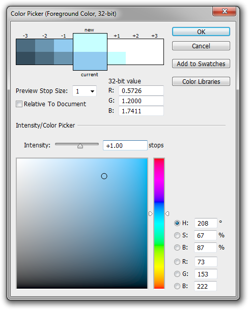 grey color picker